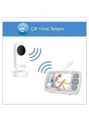Motorola Motorola Lux64 4.3 Inç Lcd Ekran Wi-Fi Video Bebek Kamerası Beyaz